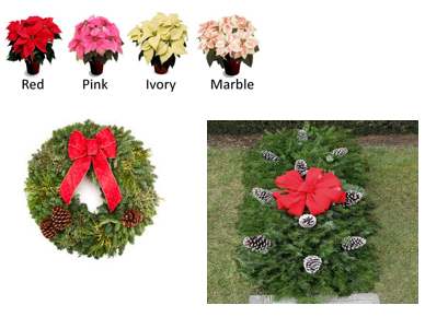 Pointsettia-wreath-blanket