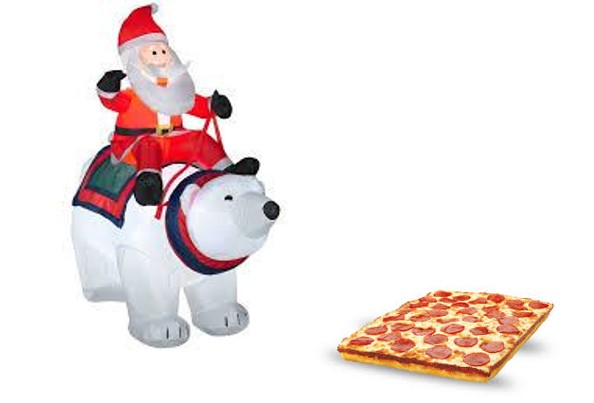 Polar pizza
